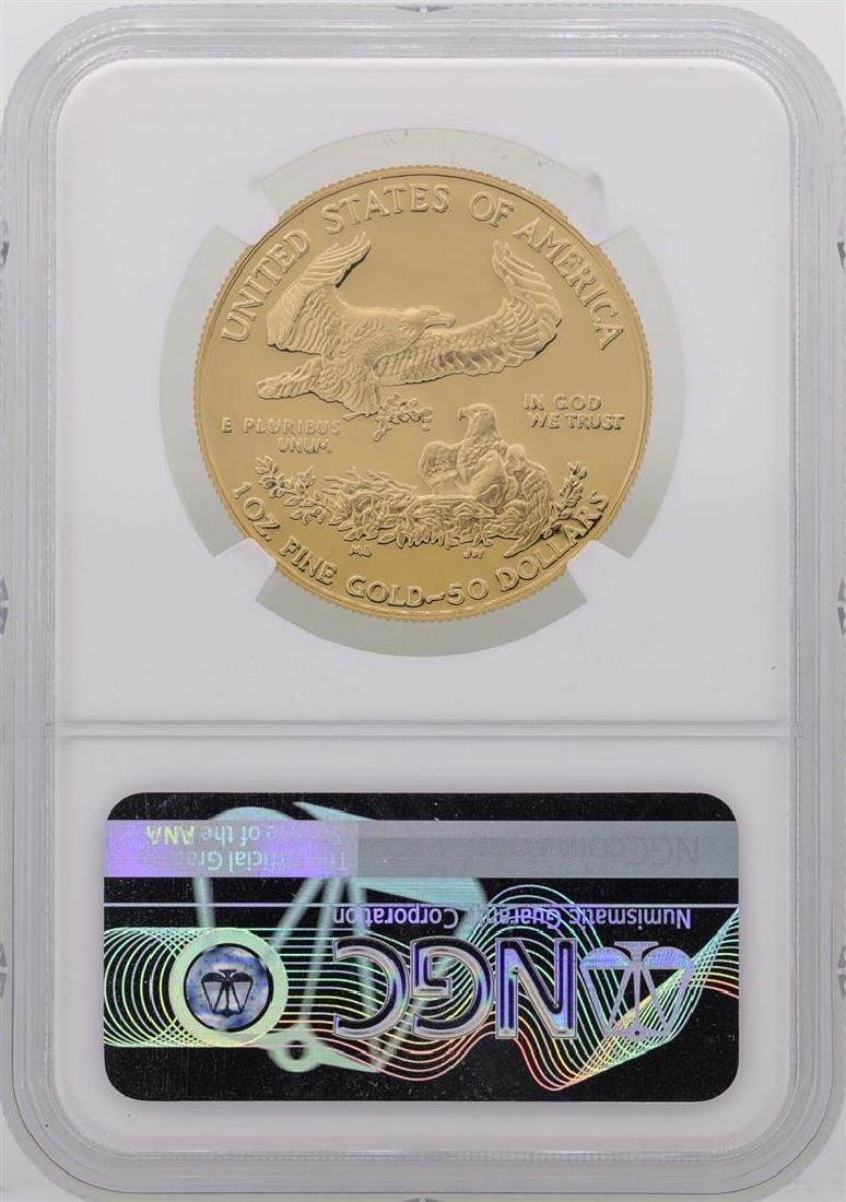 1987-W $50 American Gold Eagle Coin NGC PF69 Ultra - 2