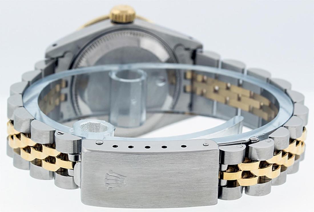 Rolex Ladies Two Tone 14K Green Vignette VS Diamond - 6