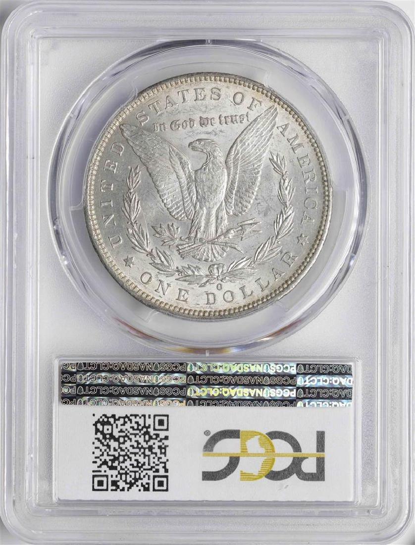 1886-O $1 Morgan Silver Dollar Coin PCGS MS61 - 2