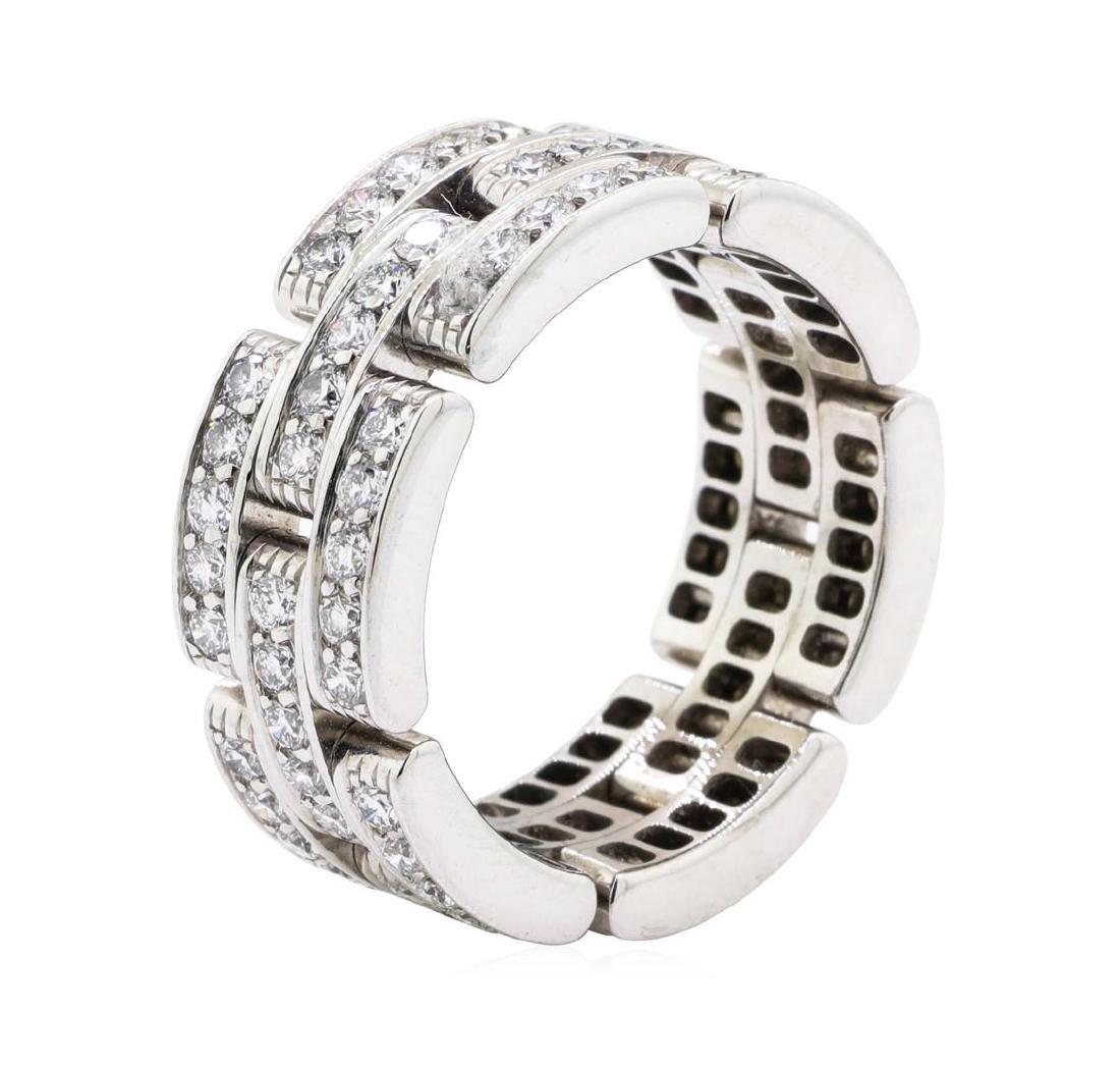 14KT White Gold 2.00 ctw Diamond Ring - 2