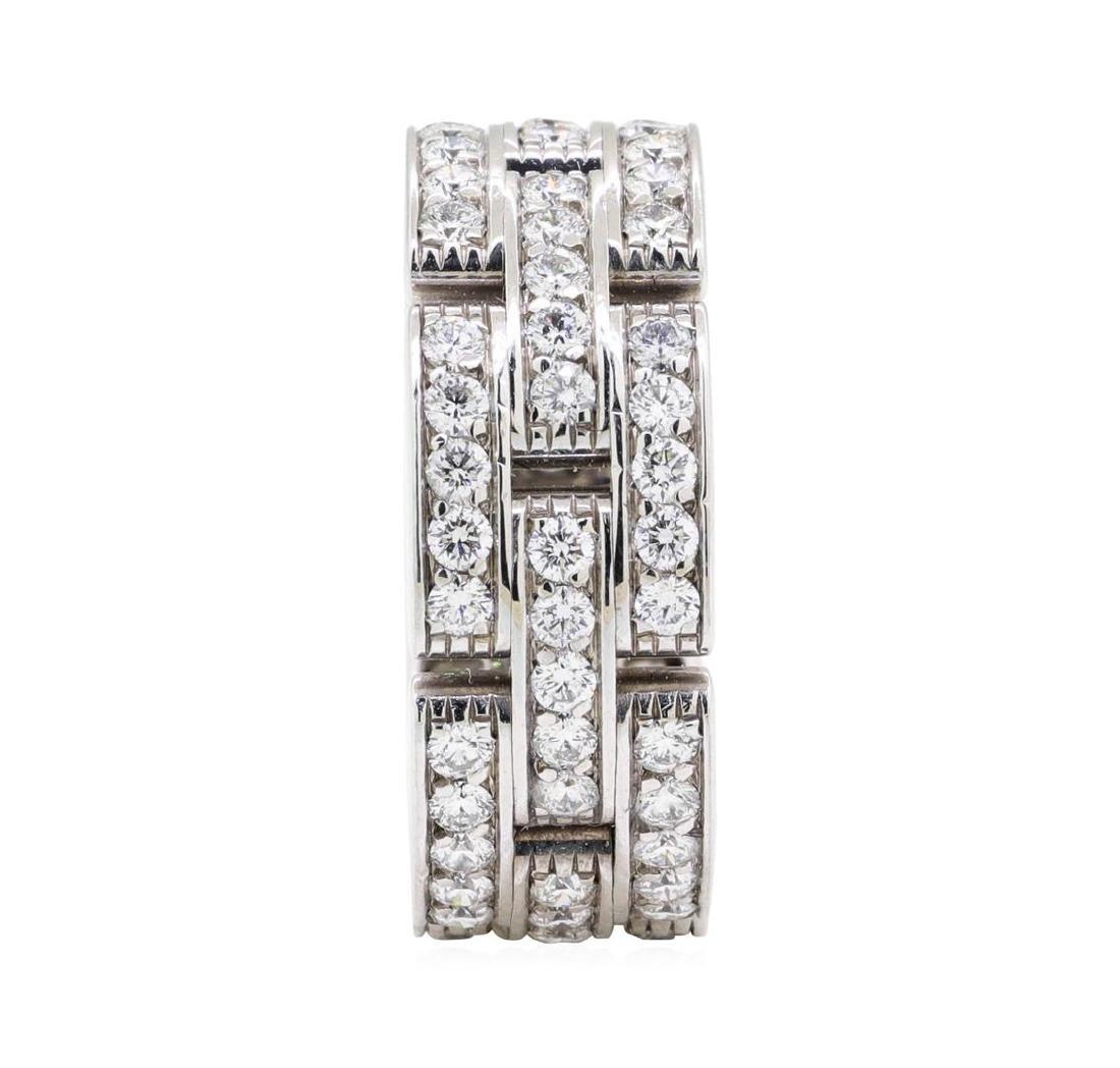 14KT White Gold 2.00 ctw Diamond Ring - 3