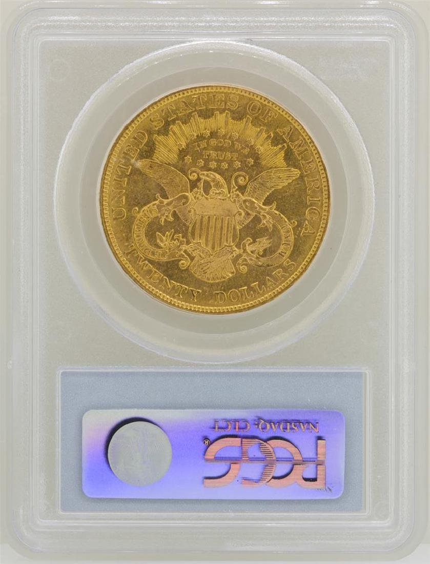 1904 $20 Liberty Head Double Eagle Gold Coin PCGS MS62 - 2