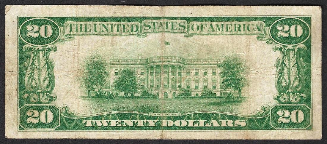 1928 $20 Federal Reserve STAR Note - 2