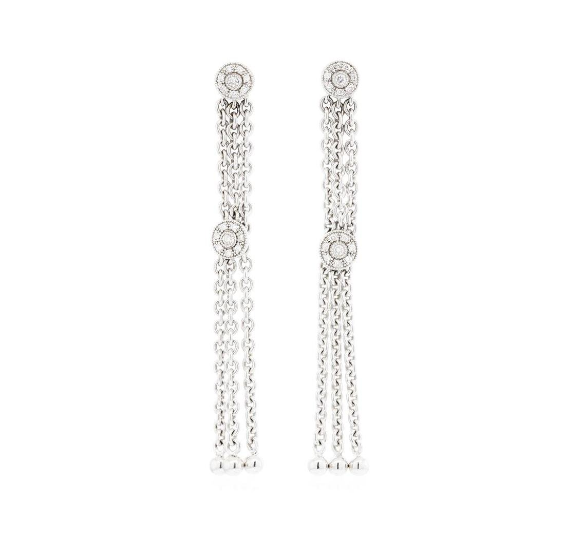 Philippe Charriol 18KT White Gold 0.41 ctw Diamond