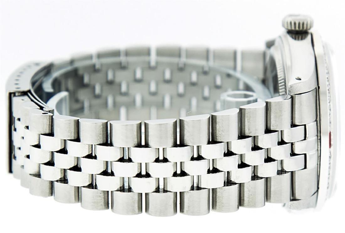 Rolex Men's Stainless Steel Red Vignette Diamond & Ruby - 6