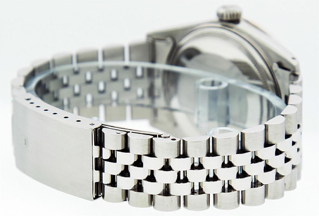 Rolex Men's Stainless Steel Red Vignette Diamond & Ruby - 7