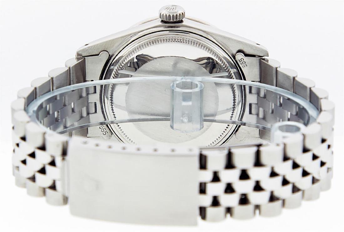 Rolex Men's Stainless Steel Red Vignette Diamond & Ruby - 8