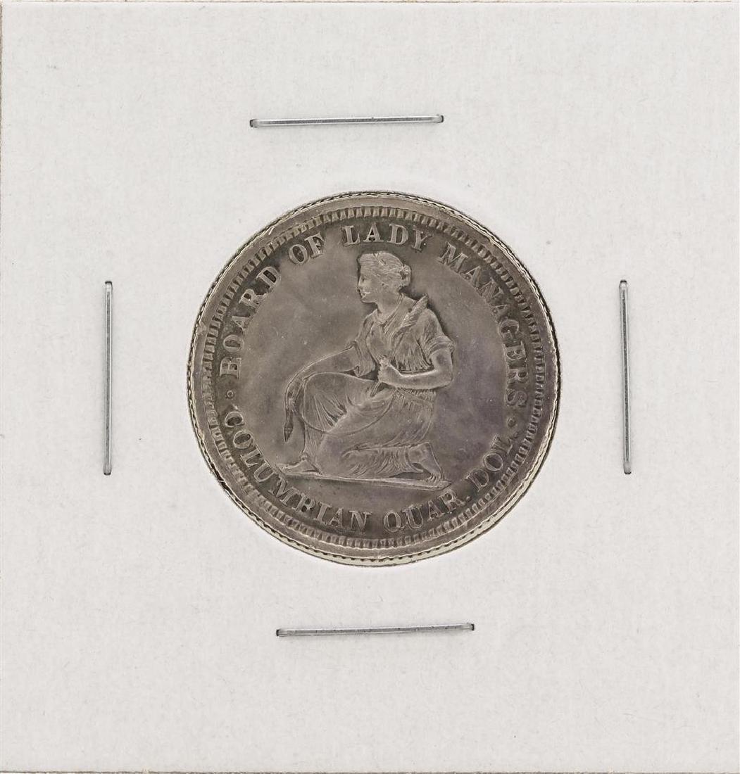 1893 Isabella Columbian Commemorative Quarter Dollar