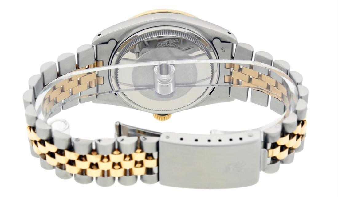 Rolex Men's Two Tone 14K Champagne Diamond 36MM - 5