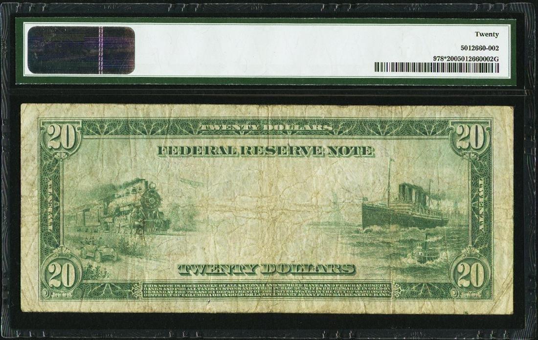 1914 $20 Federal Reserve STAR Note Cleveland Fr.978* - 2