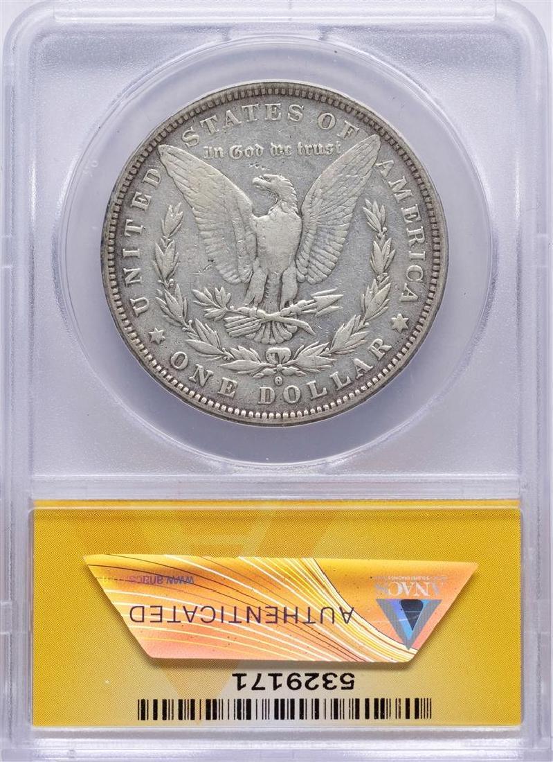 1882-O/S $1 Morgan Silver Dollar Coin VAM-3 Top 100 - 2