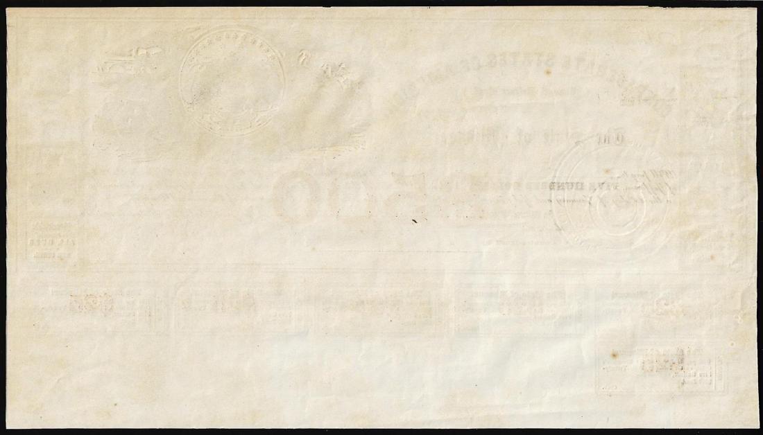 1861 $500 State of Missouri Defence Bond - 2