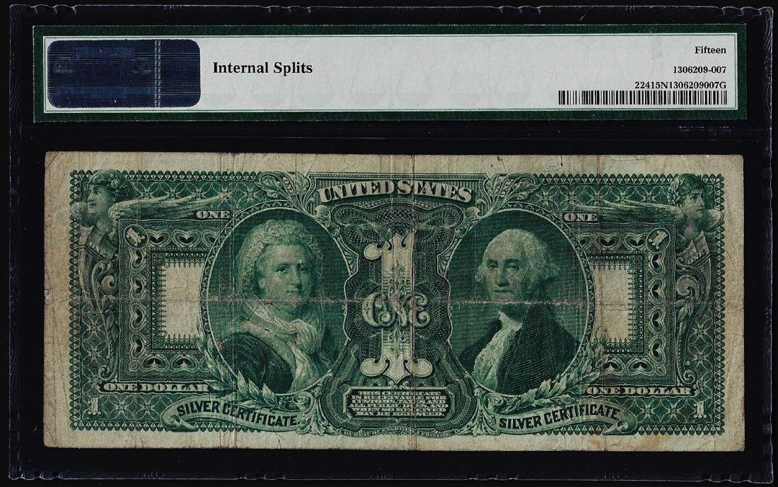1896 $1 Educational Silver Certificate Note Fr.224 PMG - 2