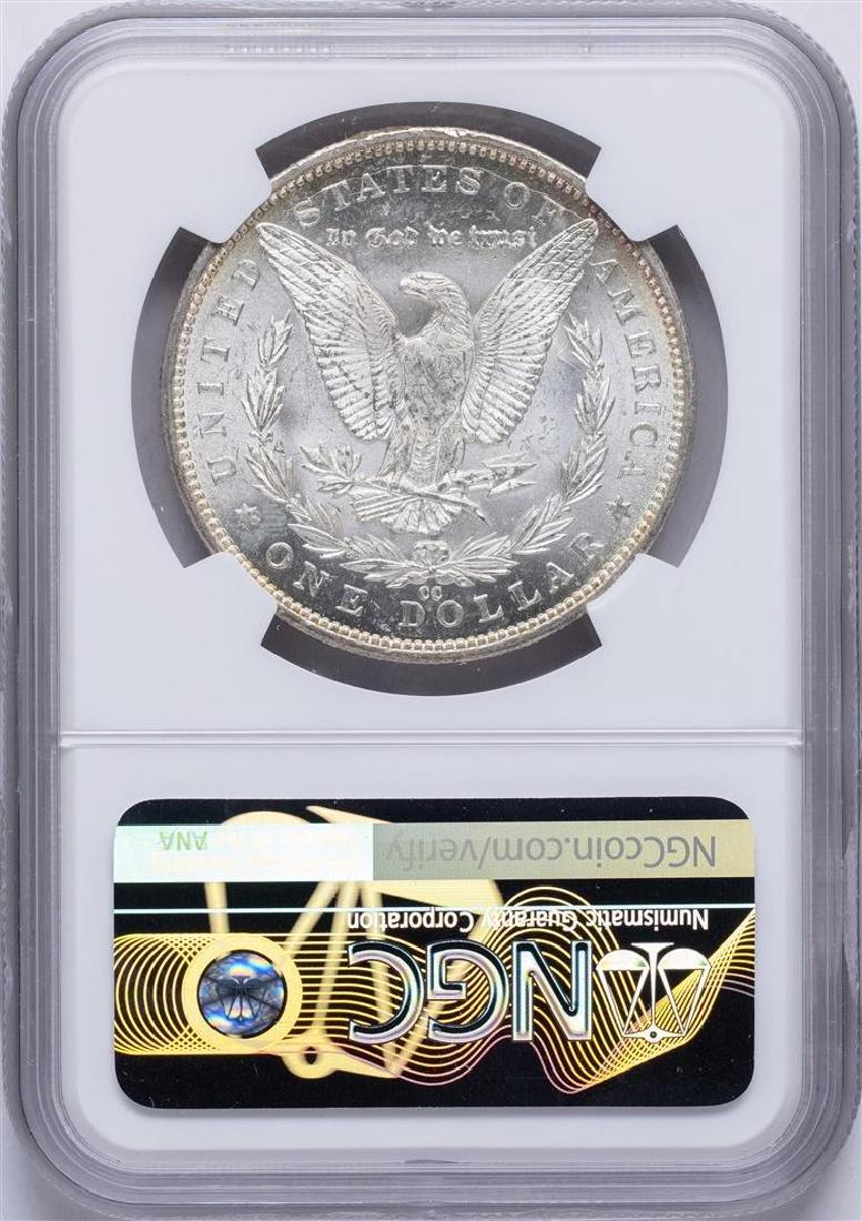 1892-CC $1 Morgan Silver Dollar Coin NGC MS63 - 2