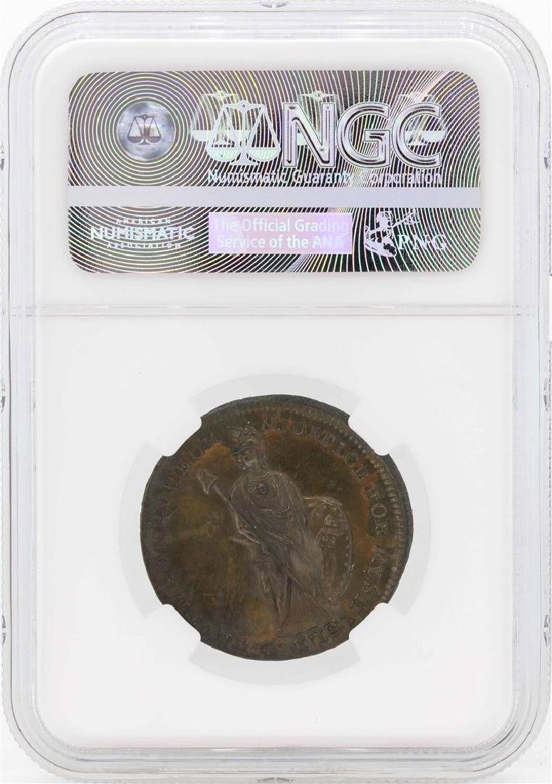 1790's Great Britain 1/2 Penny Middlesex Spences NGC - 2