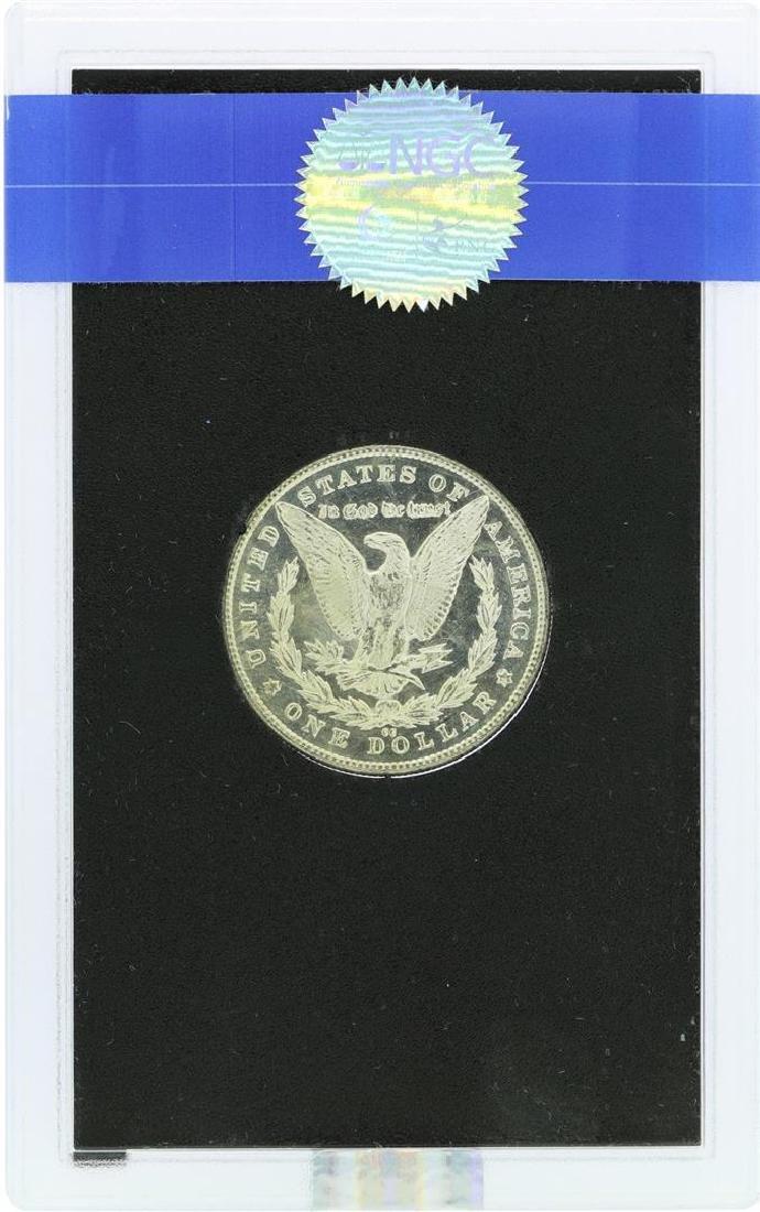 1883-CC $1 Morgan Silver Dollar Coin GSA NGC MS63PL CAC - 3
