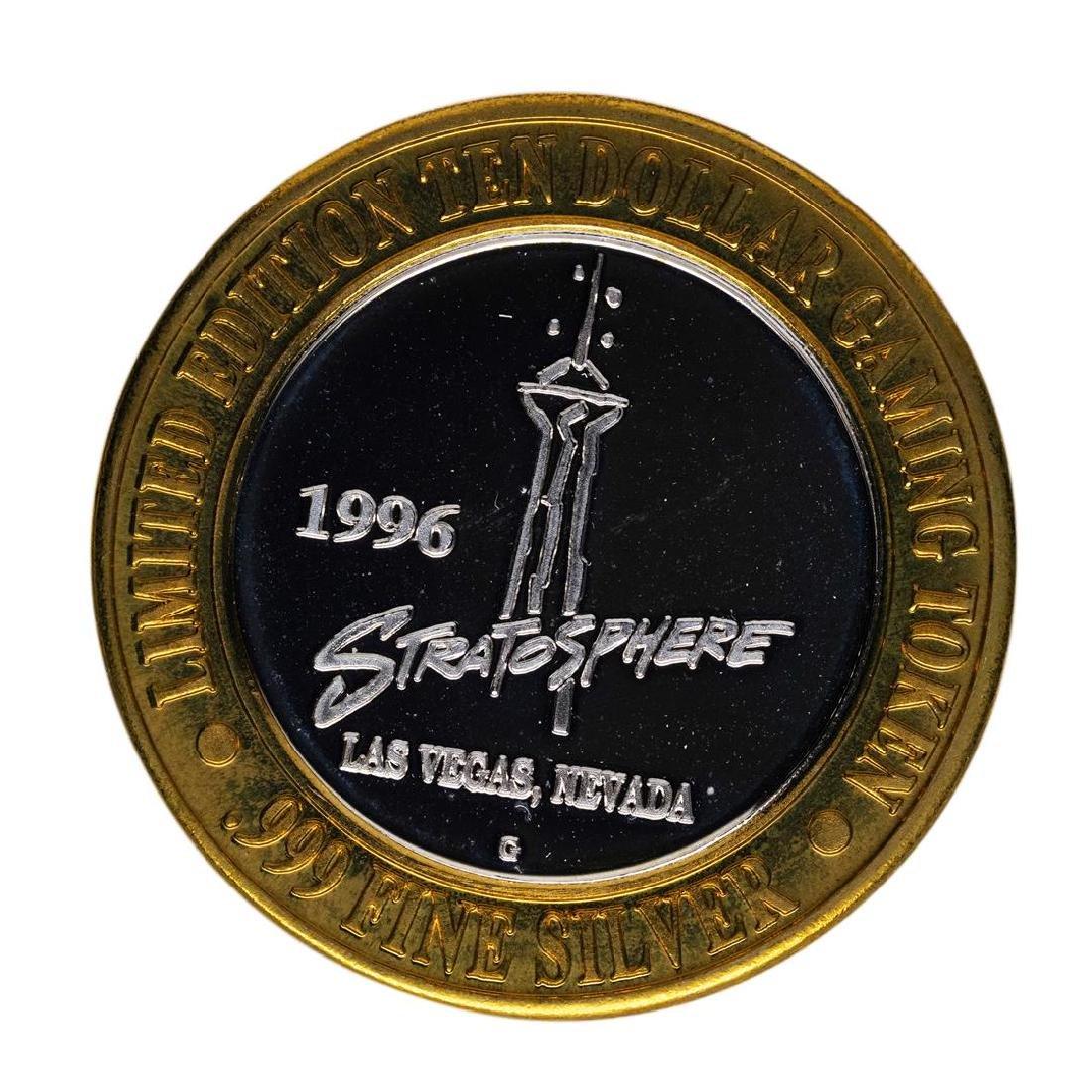 .999 Silver The Stratosphere Las Vegas, NV $10 Casino