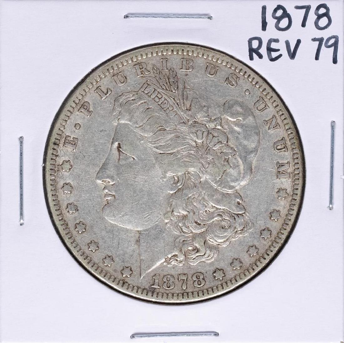 1878 Reverse of 79' $1 Morgan Silver Dollar Coin