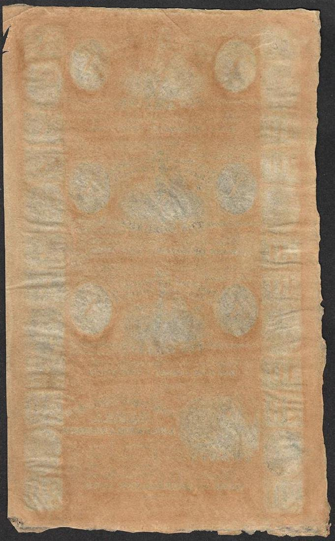 Uncut Sheet of 1800's New Orleans Canal & Banking - 2