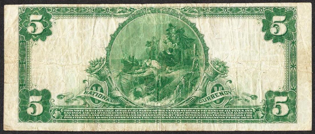 1902PB $5 Peoples National Bank of Kansas City, KS CH# - 2