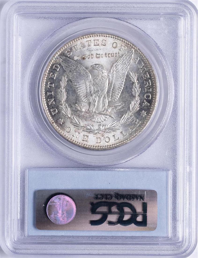 1889-S $1 Morgan Silver Dollar Coin PCGS MS62 - 2