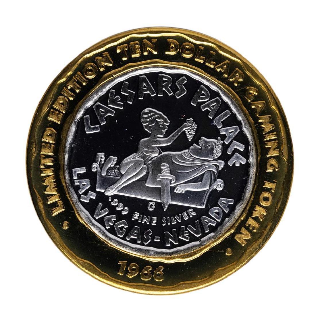 .999 Silver Caesars Palace Las Vegas, Nevada $10 Casino