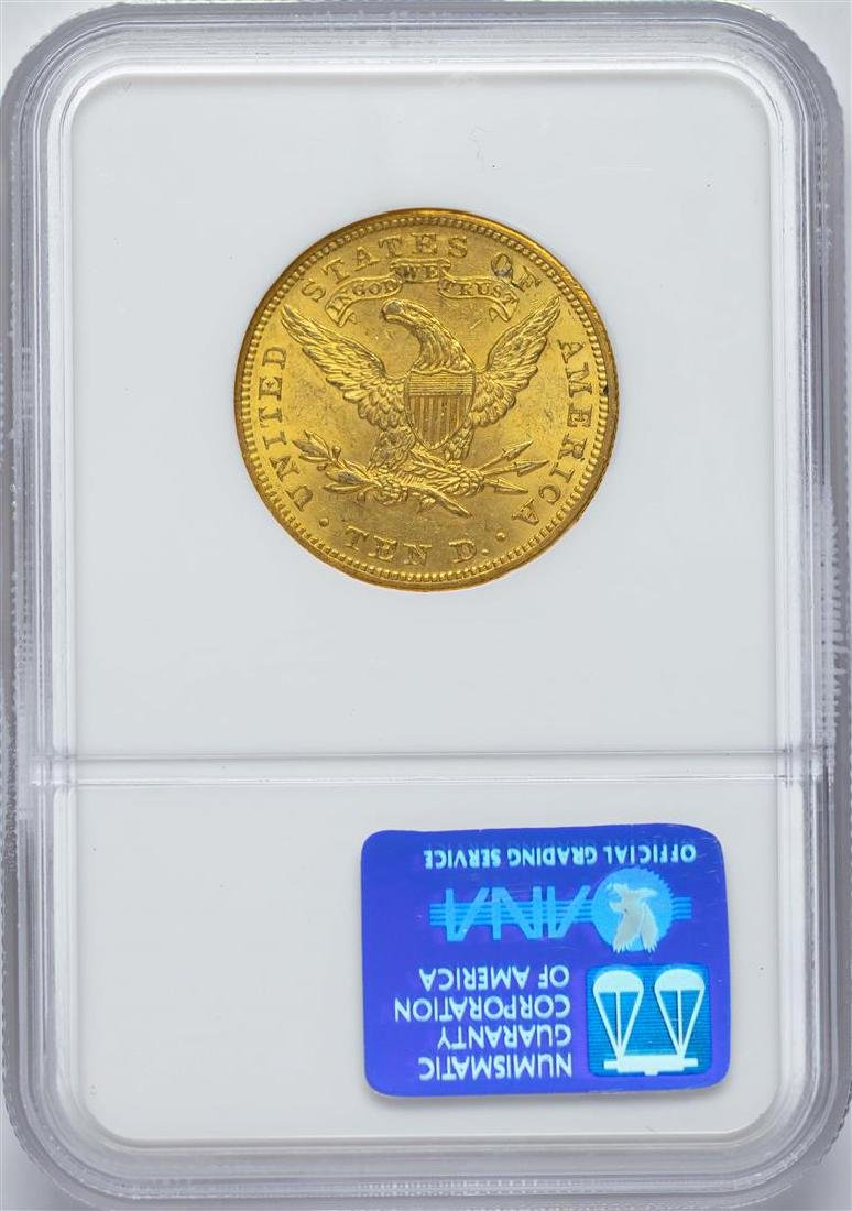 1905 $10 Liberty Head Eagle Gold Coin NGC MS62 - 2