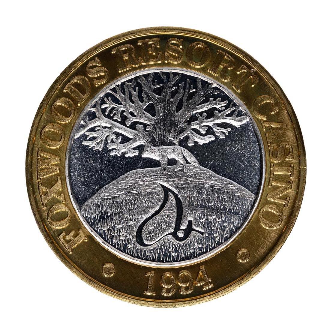 .999 Silver Foxwoods Resort Vermont Casino $10 Limited