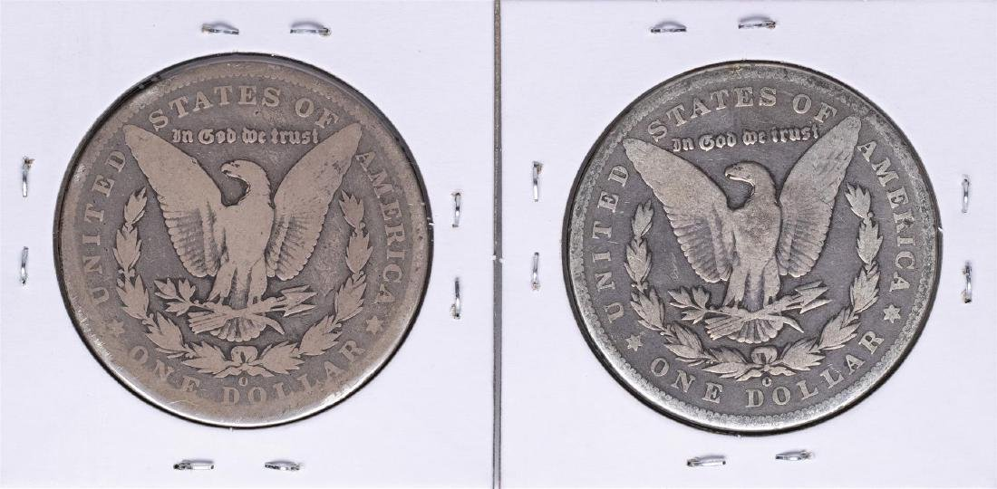 Lot of (2) 1894-O $1 Morgan Silver Dollar Coins - 2