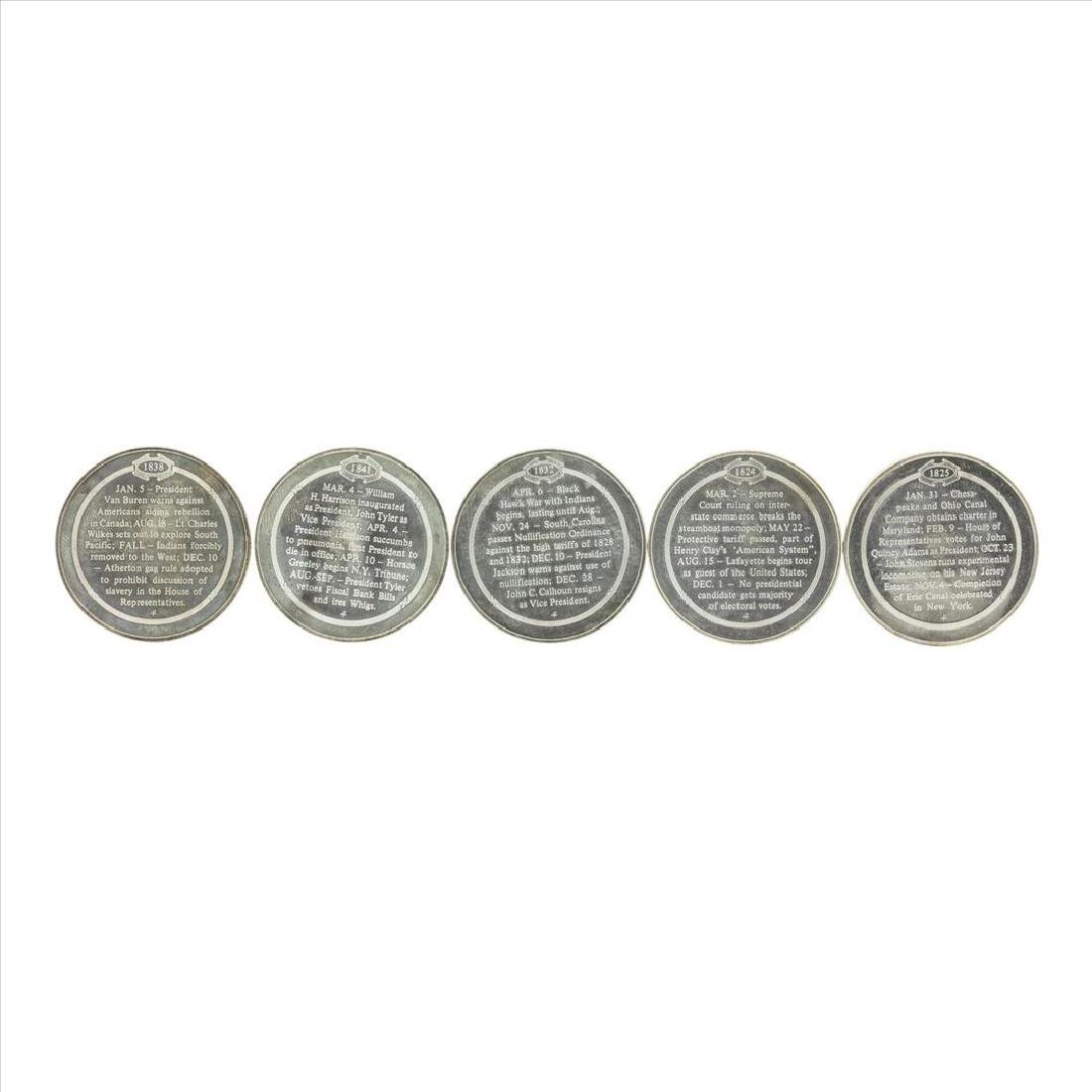Lot of (5) Commemorative Silver Coins - 2