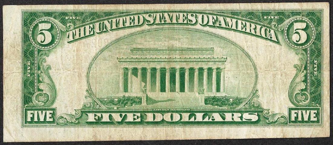 1929 $5 NB of Charleston, South Carolina CH# 2044 - 2
