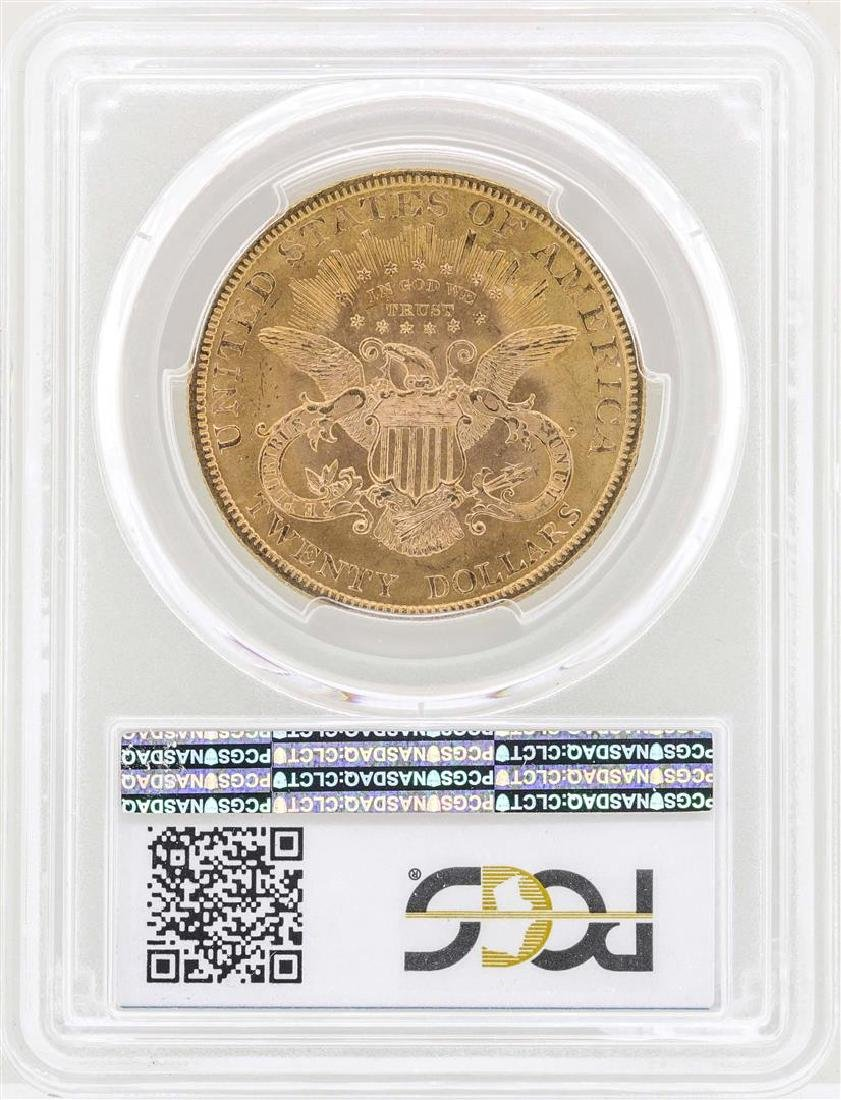 1900 $20 Liberty Head Double Eagle Gold Coin PCGS MS62 - 2