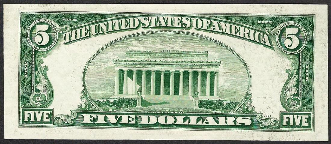1953A $5 Silver Certificate STAR Note - 2