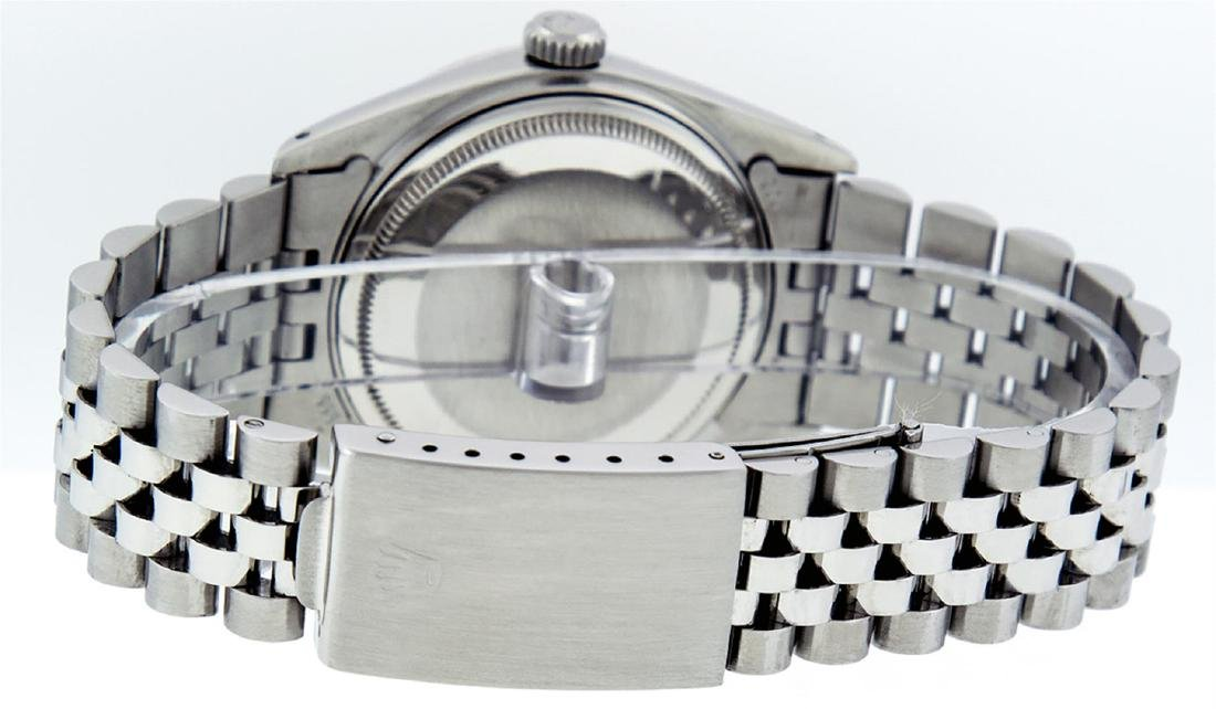 Rolex Men's Stainless Steel Diamond Lugs & Ruby - 5