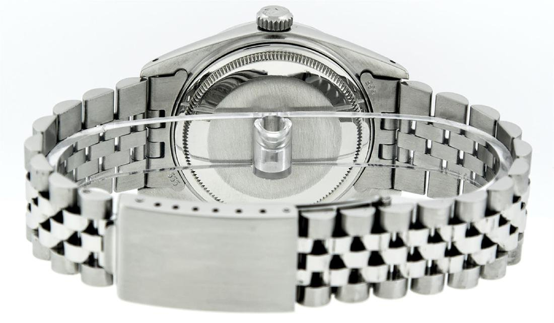 Rolex Men's Stainless Steel Diamond Lugs & Ruby - 8