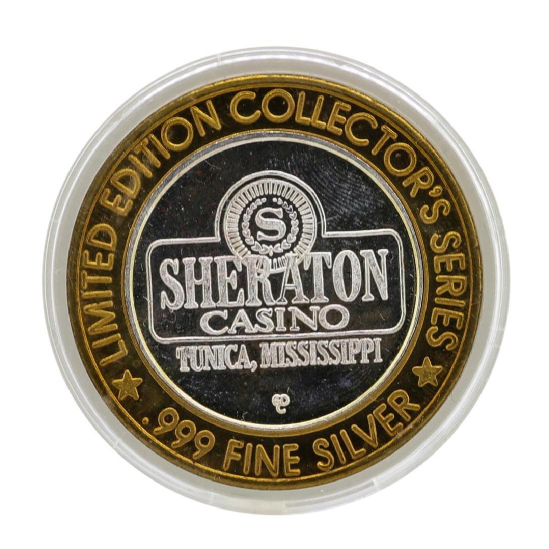 .999 Silver Sheraton Casino Tunica, Mississippi $10
