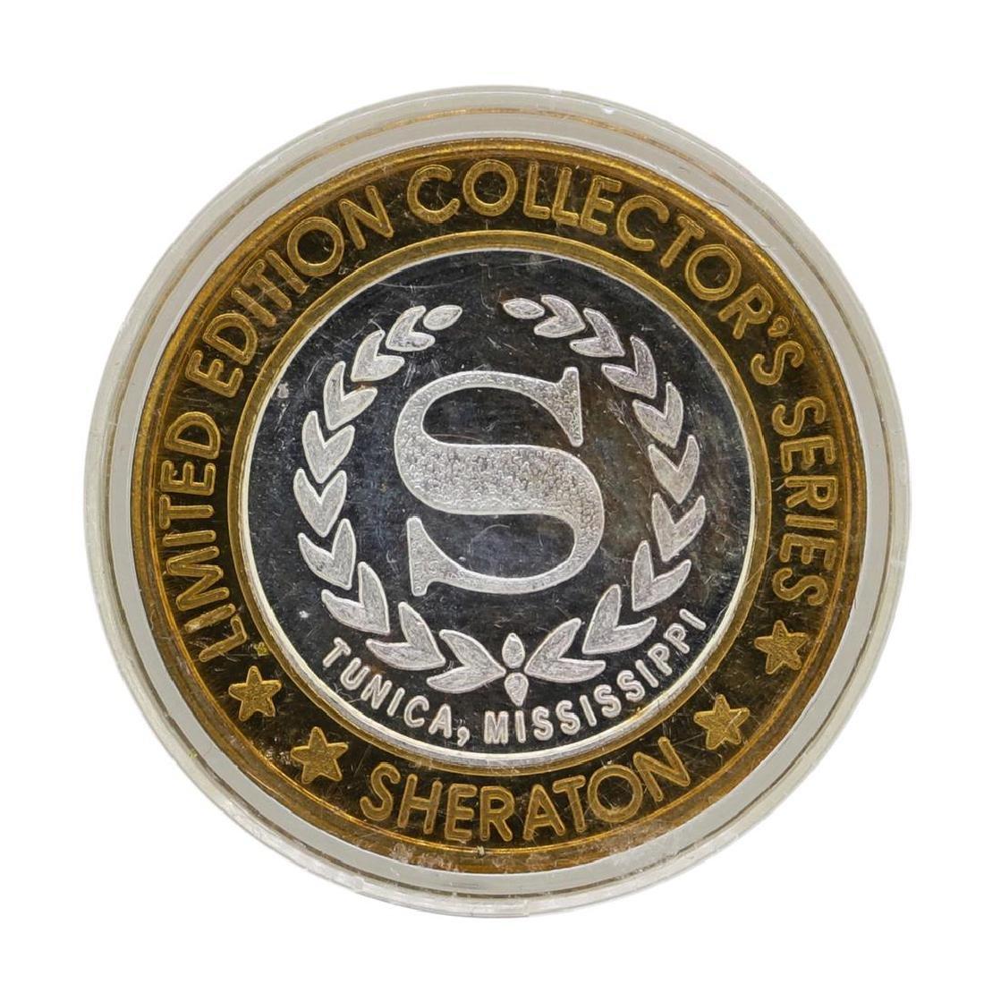 .999 Silver Sheraton Casino Tunica, Mississippi $10 - 2