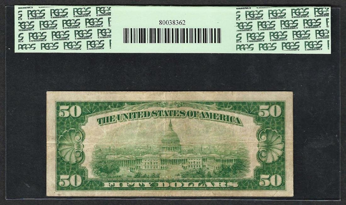 1929 $50 Federal Bank of Chicago Note Fr.1880-G PMG - 2