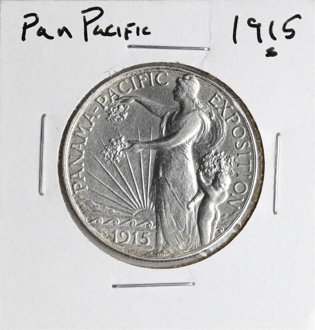 1915-S Panama Pacific Commemorative Half Dollar Coin