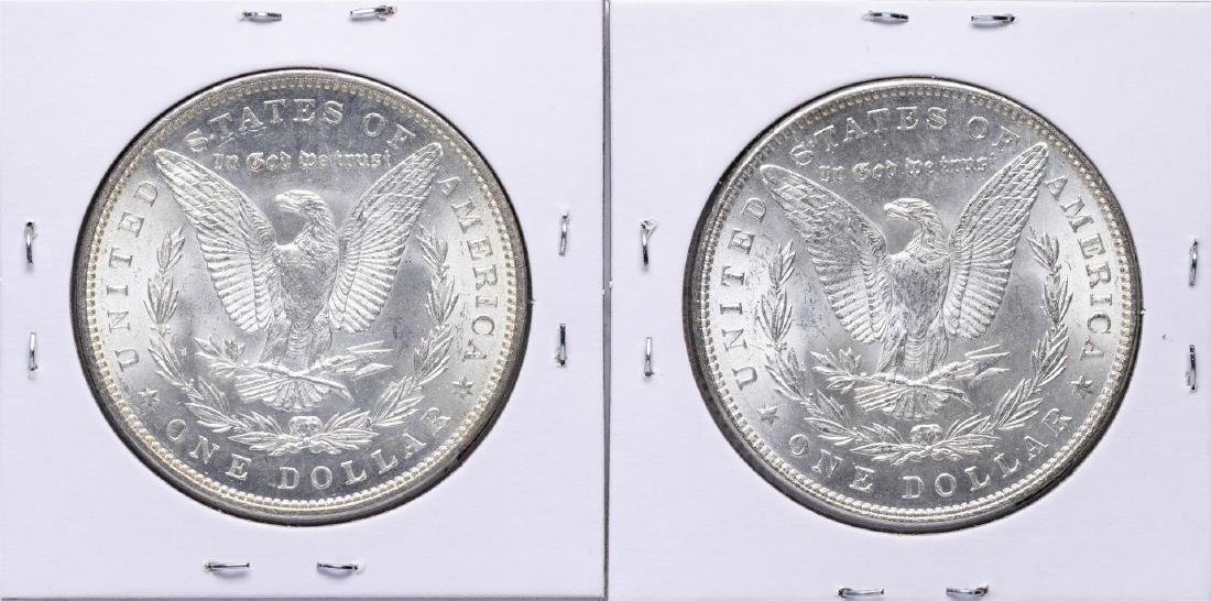 Lot of 1883-1884 $1 Morgan Silver Dollar Coins - 2