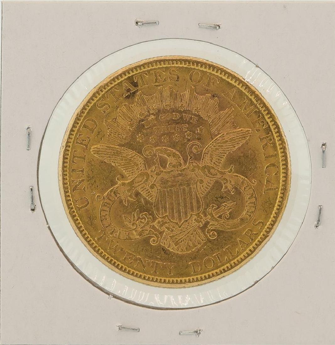 1877 $20 Liberty Head Double Eagle Gold Coin - 2