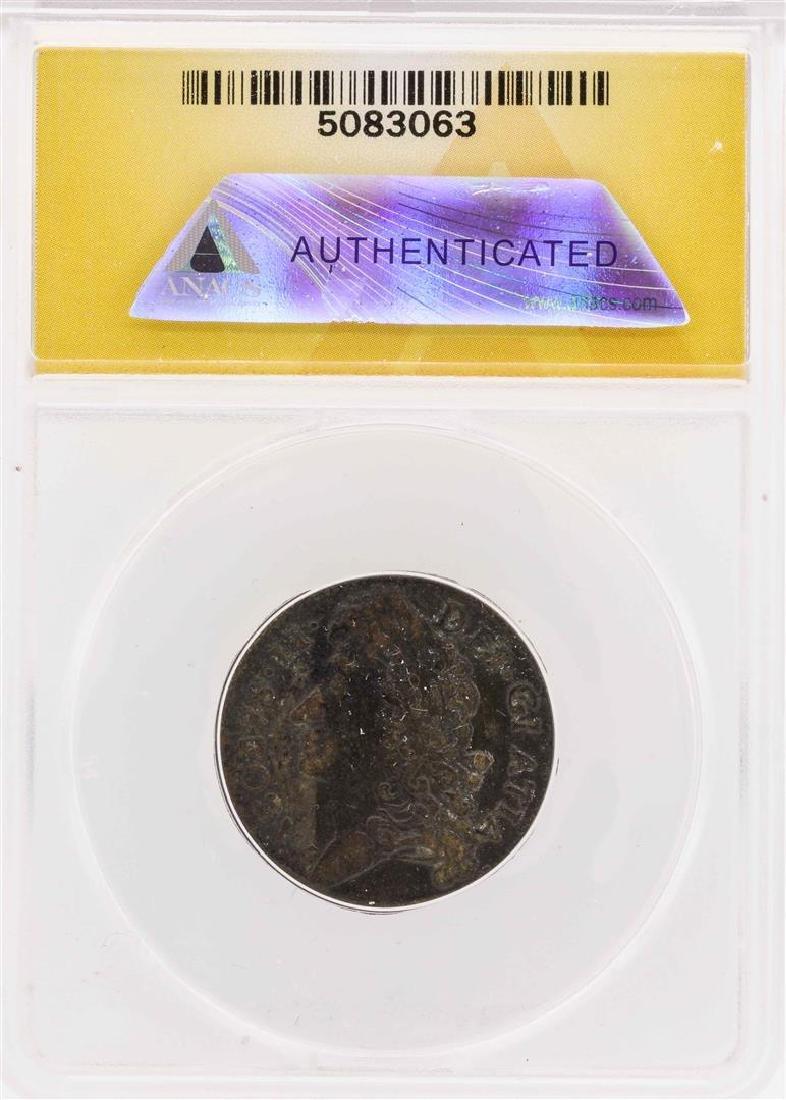 1689 Ireland Sept Gun Money Shilling Coin ANACS VF30 - 2