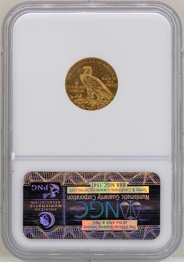 1926 $2 1/2 Indian Head Quarter Eagle Gold Coin NGC - 2