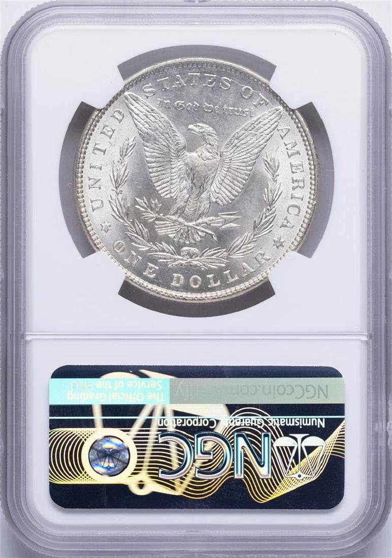 1887 $1 Morgan Silver Dollar Coin NGC MS64 - 2