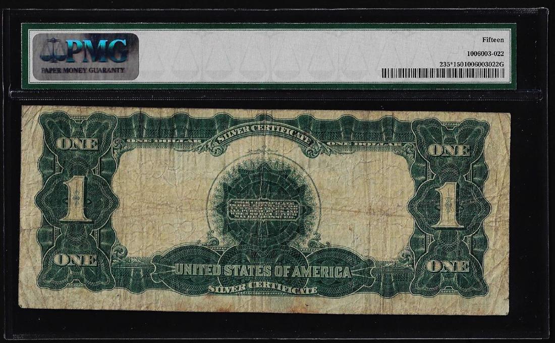 1899 $1 Black Eagle Silver Certificate STAR Note - 2