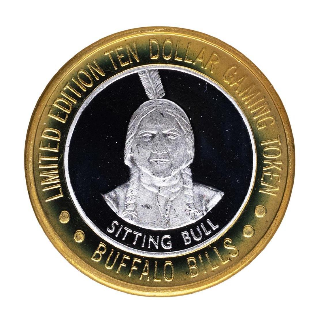 .999 Silver Buffalo Bills Resort & Casino Primm, NV $10 - 2