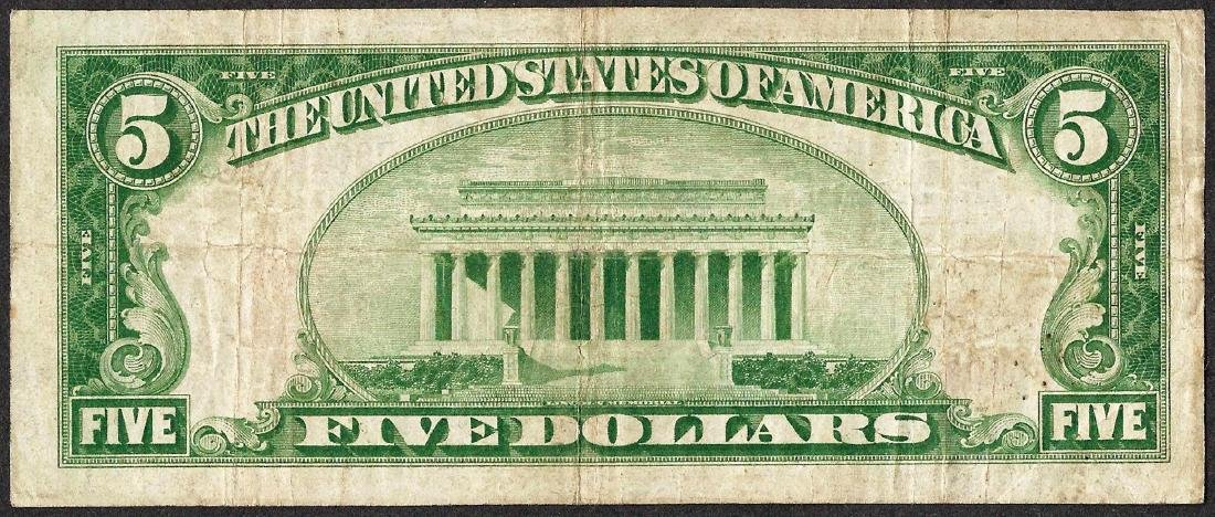 1929 $5 NB of Sellersville, Pennsylvania CH# 2667 - 2