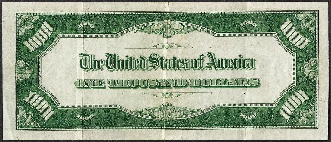 1934A $1,000 Federal Reserve Note Chicago - 2