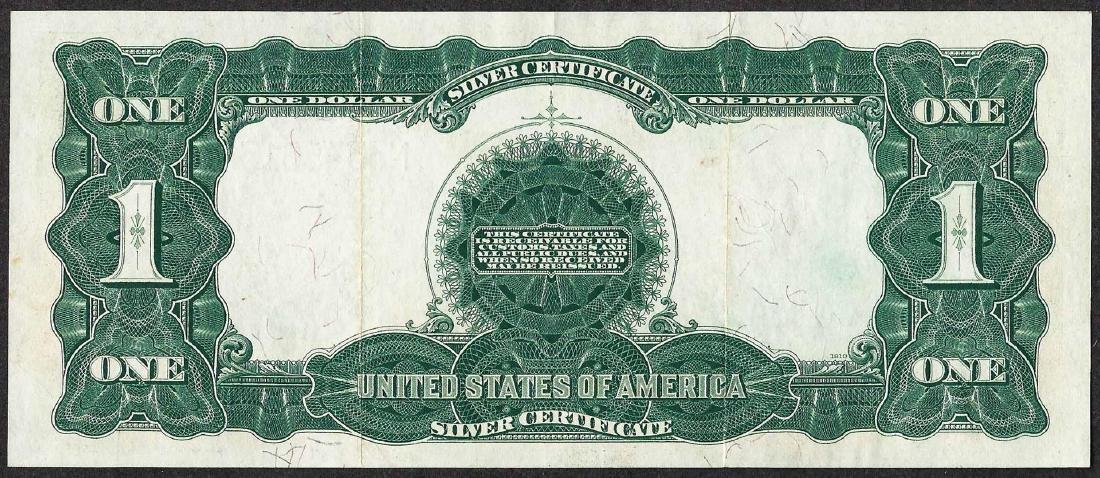1899 $1 Black Eagle Silver Certificate Note - 2