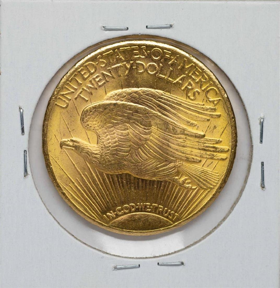 1927 $20 St. Gaudens Double Eagle Gold Coin - 2